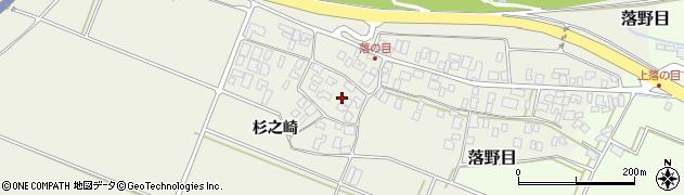 山形県酒田市落野目十寸穂周辺の地図