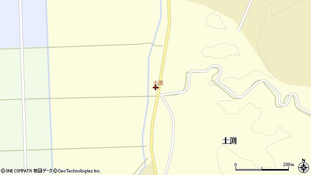 山形県酒田市土渕赤戸51周辺の地図