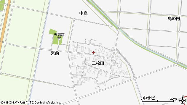 山形県酒田市丸沼二枚田80周辺の地図
