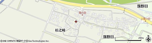 山形県酒田市落野目十寸穂20周辺の地図