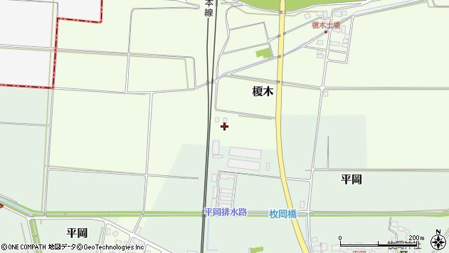 山形県東田川郡庄内町榎木川原畑4周辺の地図