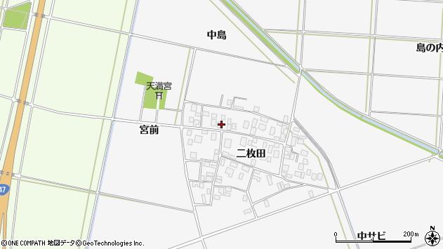 山形県酒田市丸沼二枚田85周辺の地図