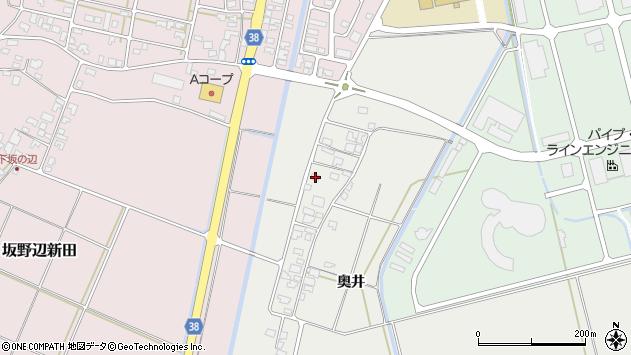 山形県酒田市広野奥井228周辺の地図