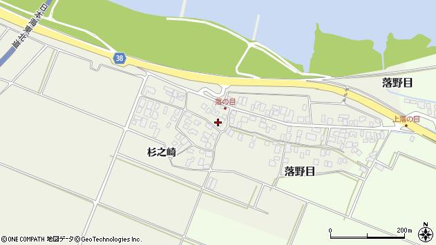 山形県酒田市落野目十寸穂28周辺の地図