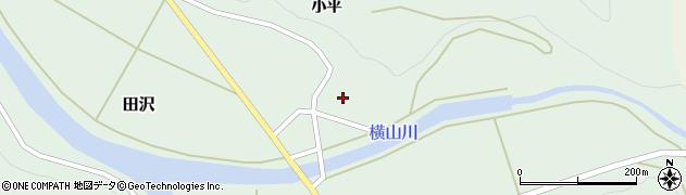 山形県酒田市田沢小平26周辺の地図