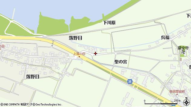 山形県酒田市新堀下川原168周辺の地図