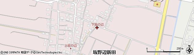 山形県酒田市坂野辺新田二番割20周辺の地図