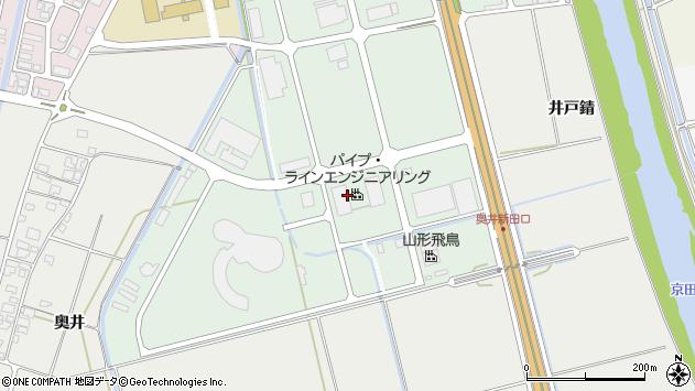 山形県酒田市京田4丁目周辺の地図