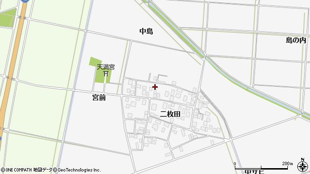 山形県酒田市丸沼二枚田83周辺の地図