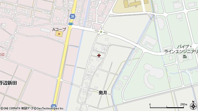 山形県酒田市広野奥井235周辺の地図