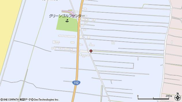 山形県酒田市十里塚村東山南292周辺の地図