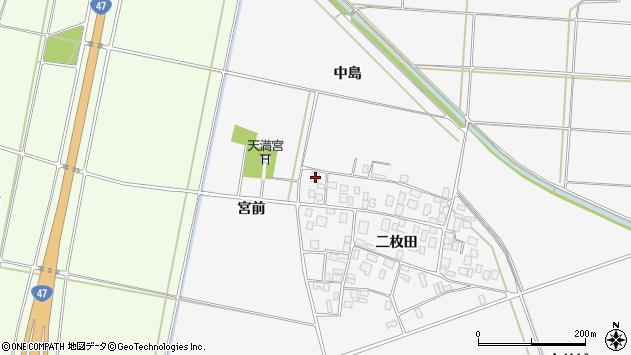 山形県酒田市丸沼二枚田95周辺の地図