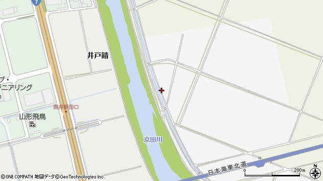 山形県酒田市板戸土手前周辺の地図