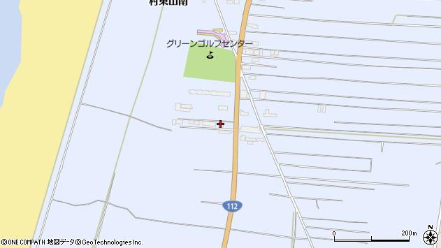 山形県酒田市十里塚村東山南293周辺の地図