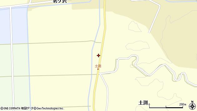 山形県酒田市土渕赤戸周辺の地図