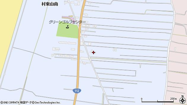 山形県酒田市十里塚村東山南298周辺の地図