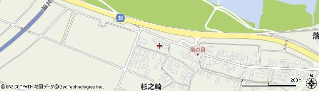 山形県酒田市落野目川前55周辺の地図