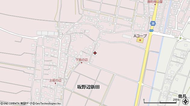 山形県酒田市坂野辺新田古川47周辺の地図