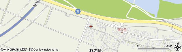 山形県酒田市落野目杉之崎10周辺の地図
