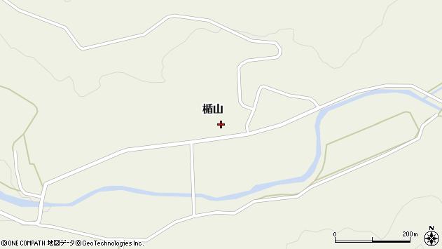 山形県酒田市楯山岩花59周辺の地図