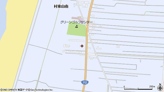 山形県酒田市十里塚村東山南299周辺の地図