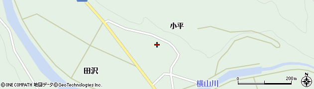 山形県酒田市田沢小平34周辺の地図