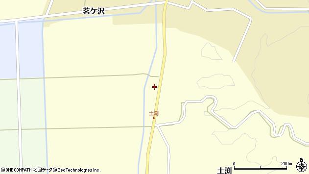 山形県酒田市土渕赤戸25周辺の地図