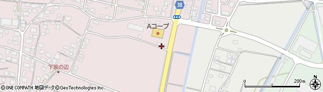山形県酒田市坂野辺新田古川19周辺の地図