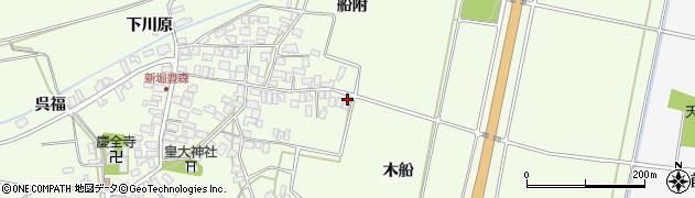 山形県酒田市新堀木船31周辺の地図