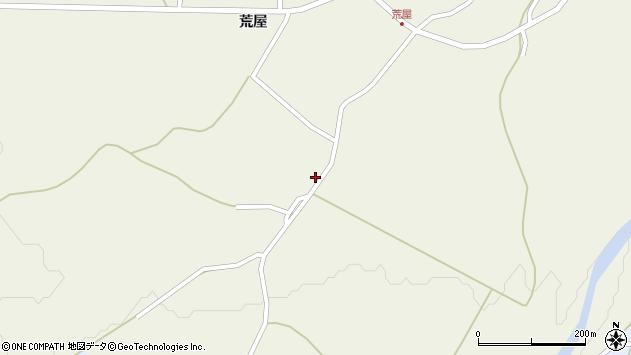 山形県最上郡金山町金山荒屋377周辺の地図