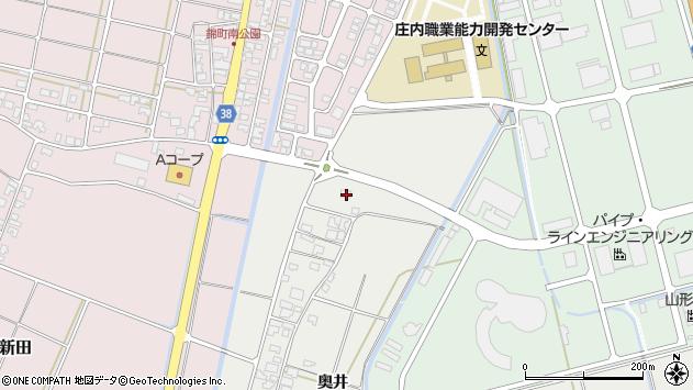 山形県酒田市広野奥井250周辺の地図