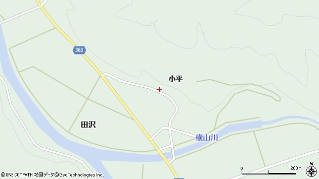 山形県酒田市田沢小平60周辺の地図