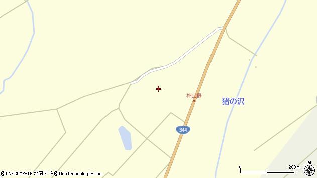 山形県最上郡金山町朴山191周辺の地図