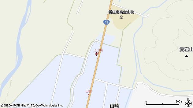 山形県最上郡金山町山崎5周辺の地図