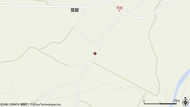 山形県最上郡金山町金山荒屋375周辺の地図