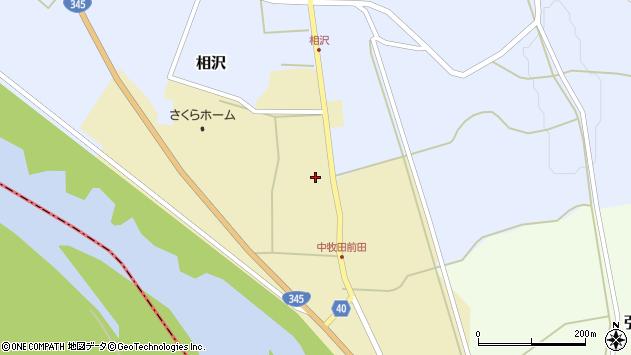 山形県酒田市中牧田谷地30周辺の地図