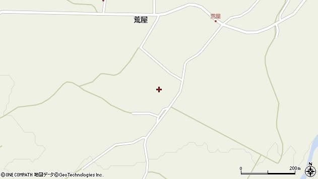 山形県最上郡金山町金山荒屋379周辺の地図