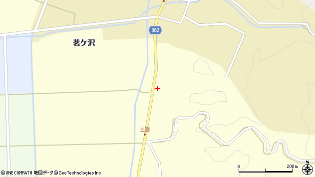 山形県酒田市土渕新田町138周辺の地図