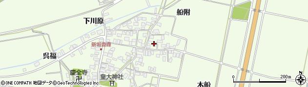 山形県酒田市新堀豊森156周辺の地図