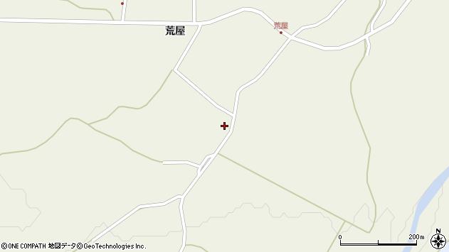 山形県最上郡金山町金山荒屋374周辺の地図