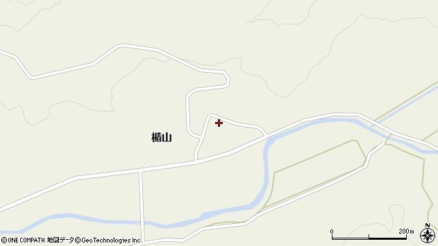 山形県酒田市楯山岩花17周辺の地図