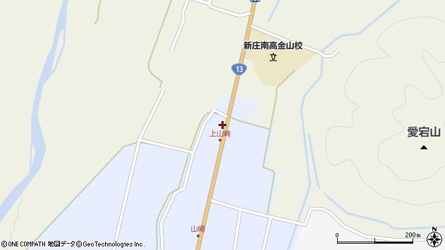 山形県最上郡金山町山崎2周辺の地図