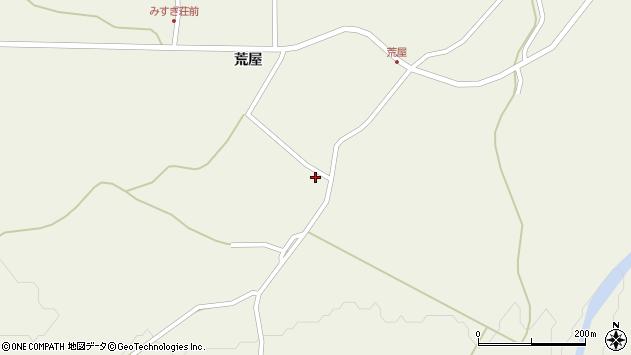 山形県最上郡金山町金山荒屋367周辺の地図
