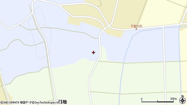 山形県酒田市相沢鶴牧周辺の地図