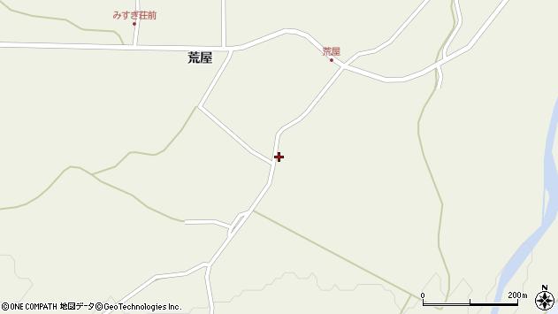 山形県最上郡金山町金山荒屋368周辺の地図