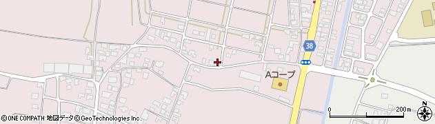 山形県酒田市坂野辺新田東狢山41周辺の地図