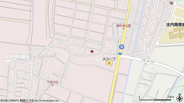 山形県酒田市坂野辺新田東狢山54周辺の地図