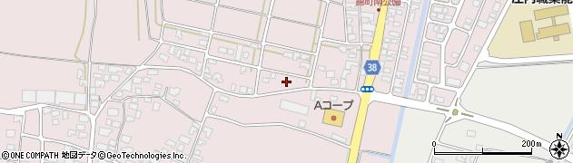 山形県酒田市坂野辺新田東狢山55周辺の地図