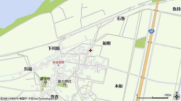 山形県酒田市新堀豊森162周辺の地図