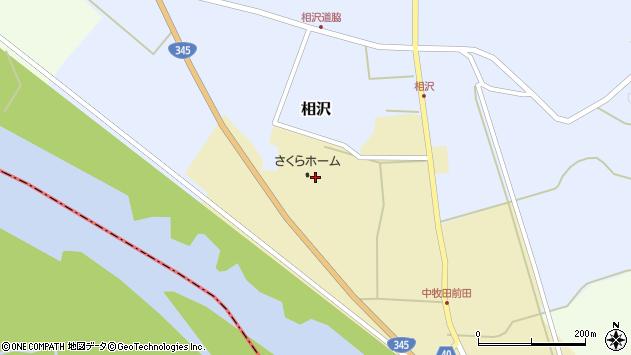 山形県酒田市中牧田丸福171周辺の地図